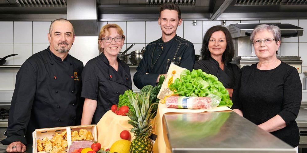 Schwanenhof Team Küche